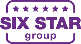 Six star group logo