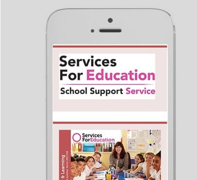 Services for Education Portfolio 3