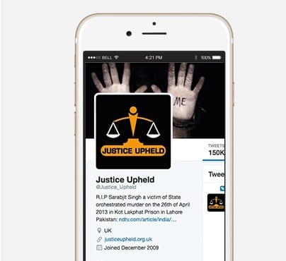 Justice Upheld Mobile view