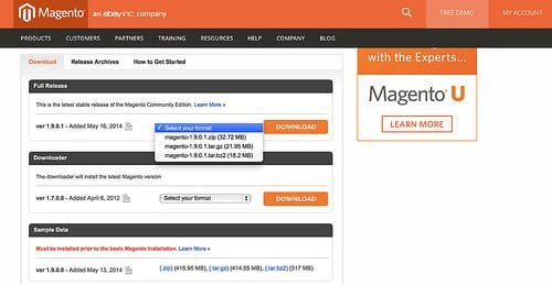 How to Install Magento and Add a Theme