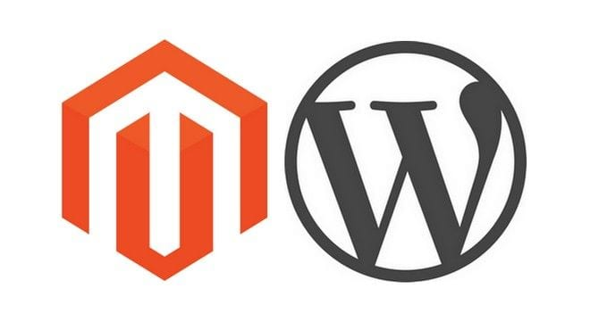 Magento and WordPress can complement each other.