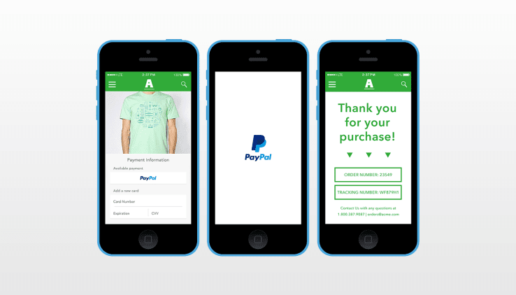 PayPal One Touch for Magento 2