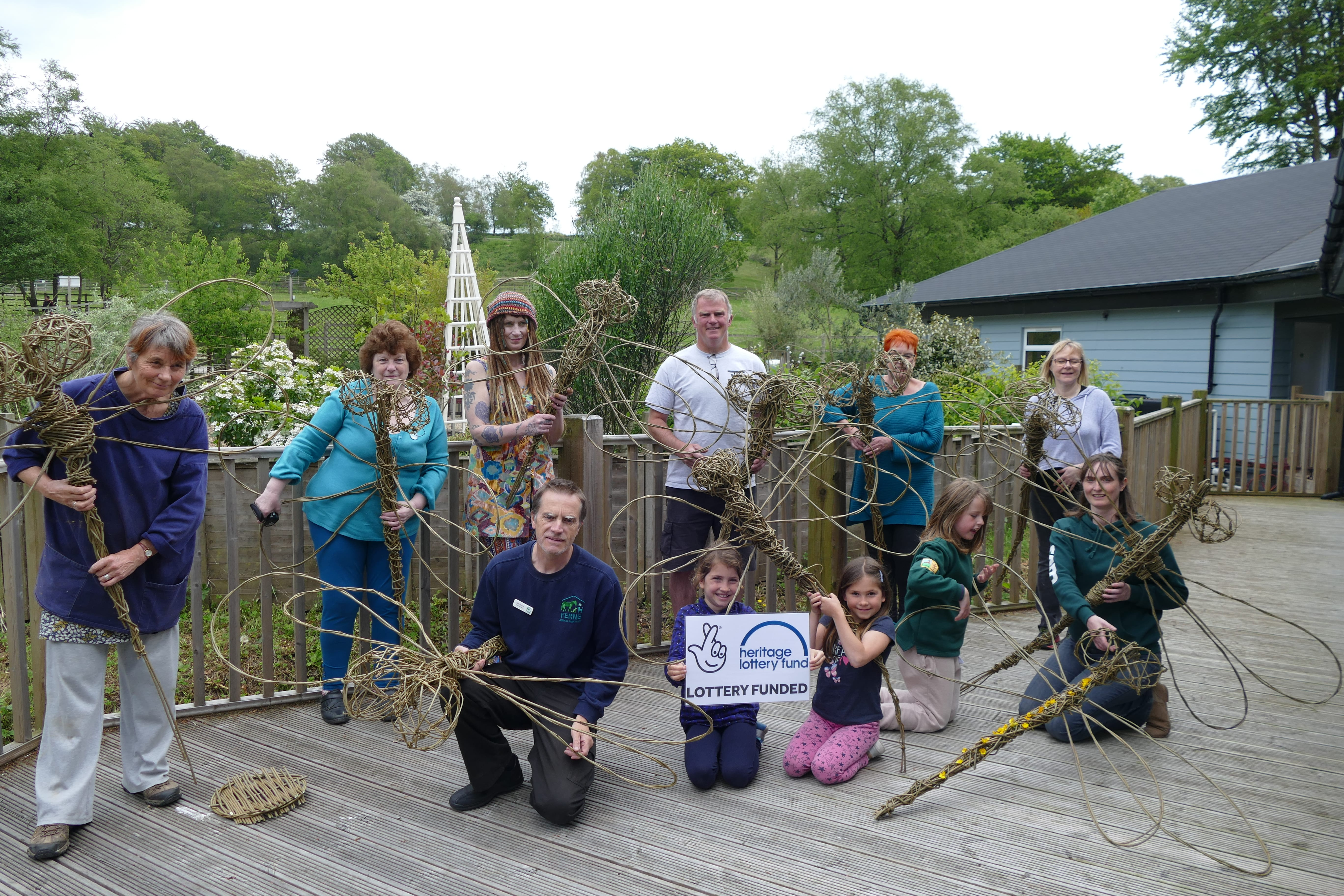 Dragonfly Willow Weaving Group